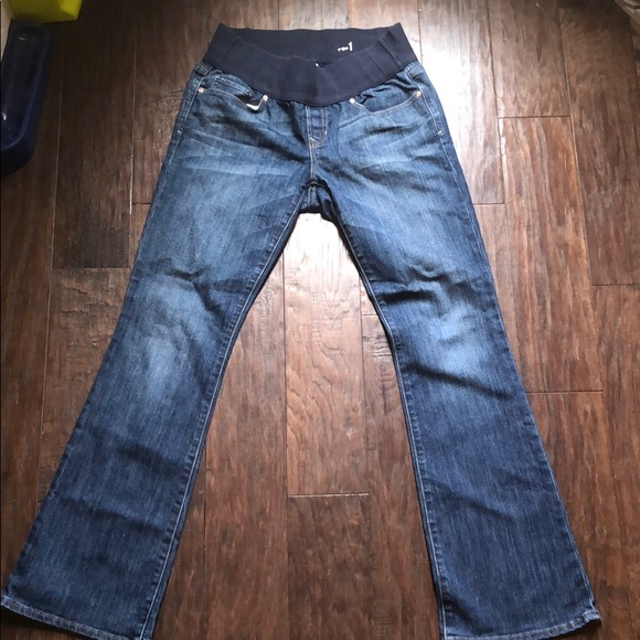 GAP Denim - Gap Maternity Jeans Sexy Boot Cut Size 28/6 ankle